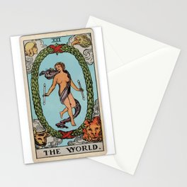 21 -	The World Stationery Cards