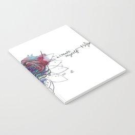 I Create Myself/ Bad Wolf Dream Catcher Notebook