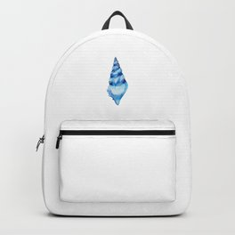 Azure seashell Backpack