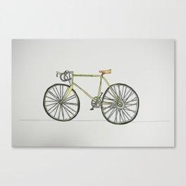 Racer Bike Canvas Print