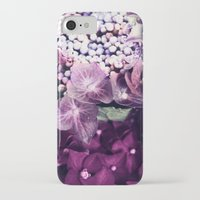 hydrangea iPhone & iPod Cases featuring Hydrangea  by Truly Juel
