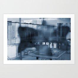 Abstract views Art Print