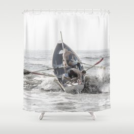 Get In The Boat! Shower Curtain