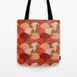 roses pattern Tote Bag