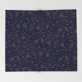Sailor Moon Constellation Throw Blanket