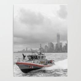 Coast Guard and NYC Poster