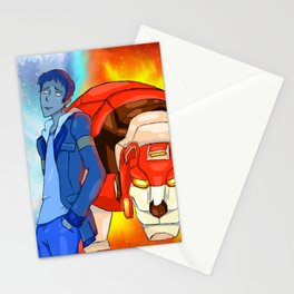 Lance the red paladin Stationery Cards