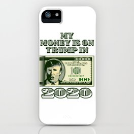 Re-Elect Trump for President. Keep America Great! Light iPhone Case