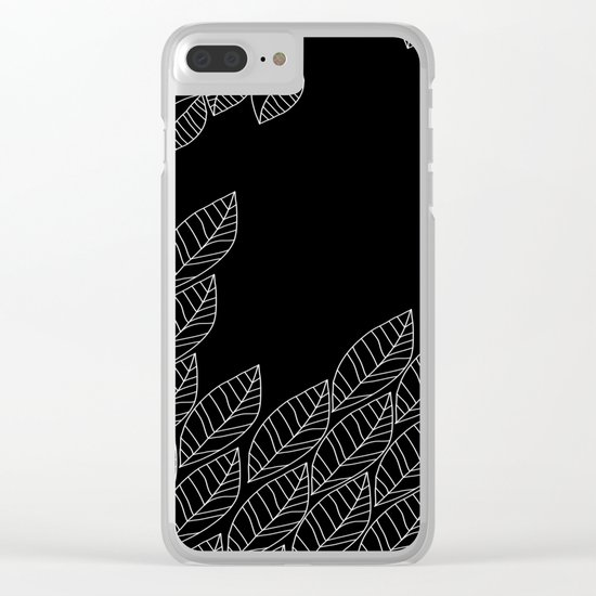 Leaves Stream Clear iPhone Case