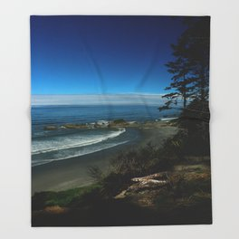 Coastal View Throw Blanket
