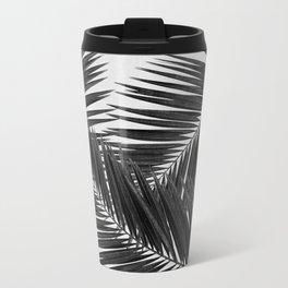 Palm Leaf Black & White III Travel Mug