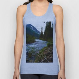 Geraldine Lakes Hike in Jasper National Park, Canada Unisex Tank Top