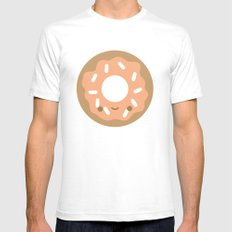 Breakfast at Juice's SMALL Mens Fitted Tee White