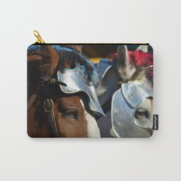 Jousting Horse - Armored Pair Carry-All Pouch