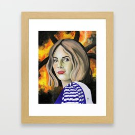 Maya Hawke Framed Art Print