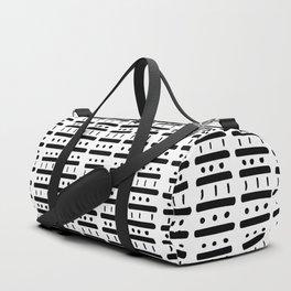 Dash Dash Dot Dot Duffle Bag