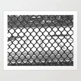 Gated in Tremont Art Print