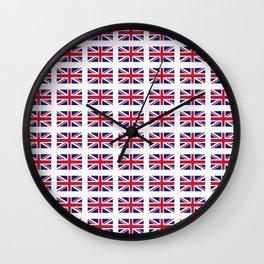 flag of uk 3 - London,united kingdom,england,english,british,great britain,Glasgow,scotland,wales Wall Clock