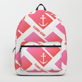 Florida Scarf Fat Pink Logo Backpack