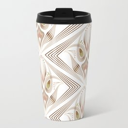 """Art Deco 39. """" Flo  """". Travel Mug"""