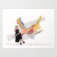 Girl Time No. 8 Art Print