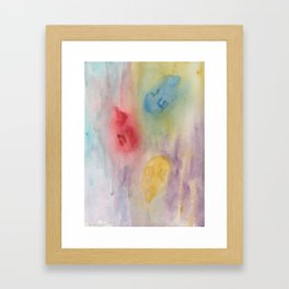 A Miracle Happened Framed Art Print