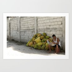 Jackfruit for Sale Art Print
