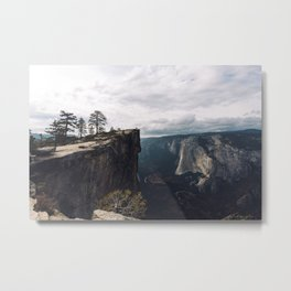 Taft Point in the Evening Metal Print