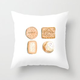 Cookies & Biscuits 2 Throw Pillow