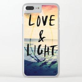 Uluwatu Bali surf breaks sunset Clear iPhone Case