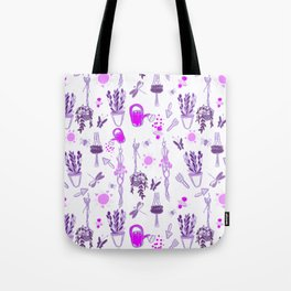 Ultra violet sweet spring English garden Tote Bag