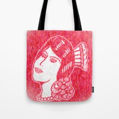 Lady from Spain Tote Bag