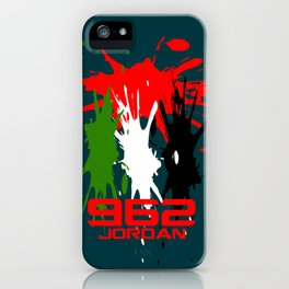 Jordan Code iPhone Case