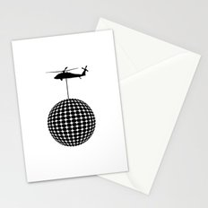 let's dance, not war Stationery Cards