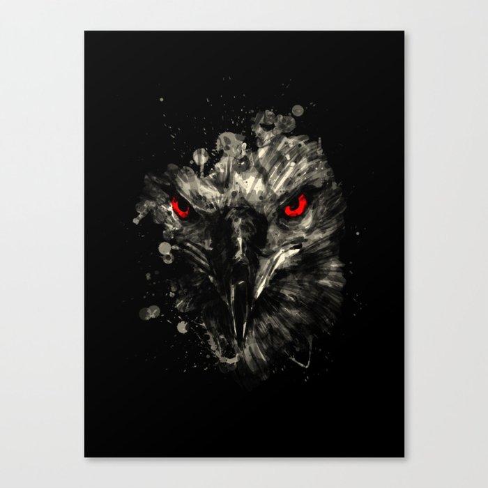 Eagle stare Canvas Print