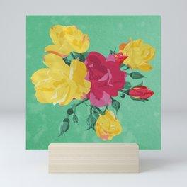 Saturday Roses Mini Art Print