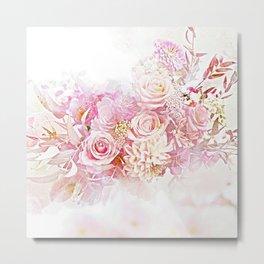 Pink Cloud Metal Print