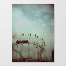 Creepy Carnival  Canvas Print