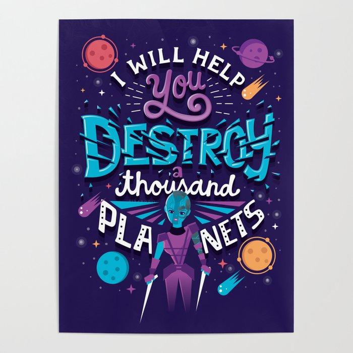 A Thousand Planets Poster