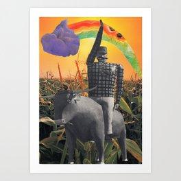 Paul Bunyon & Co.  Art Print