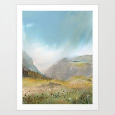 Monashee Mountains Art Print