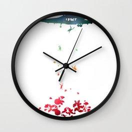 Sakura Rebirth Wall Clock