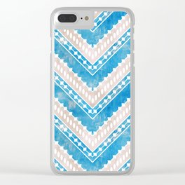 Chevron 15D Clear iPhone Case