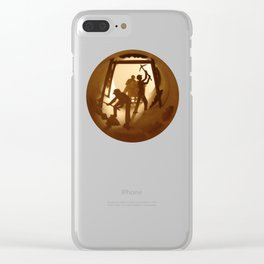 Miners (Mineurs) Clear iPhone Case