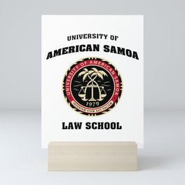 University of American Samoa Mini Art Print
