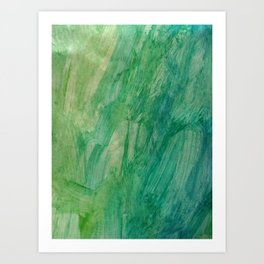 It's easy being green Art Print