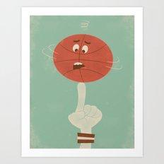 Spin Art Print