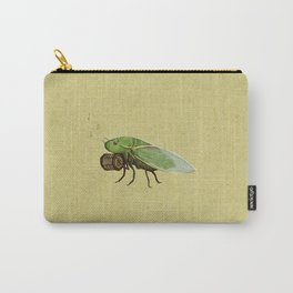 Cicada Playing a Sqeezebox Carry-All Pouch