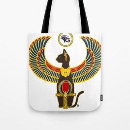 Winged Bast w/Ankh Tote Bag