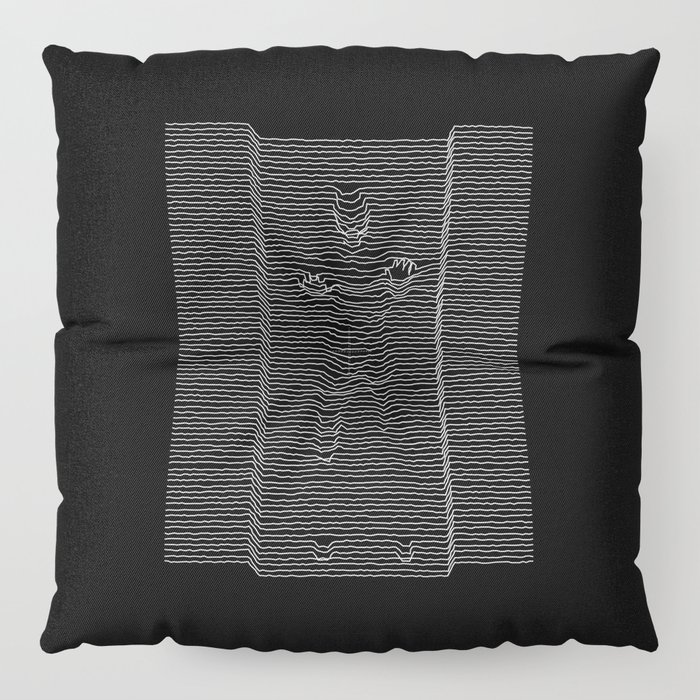 Joy Division: Going Solo Floor Pillow